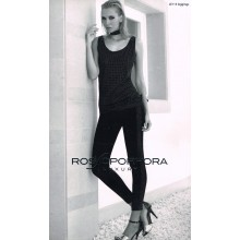 ROSSOPORPORA LEGGINGS DONNA ART LE113