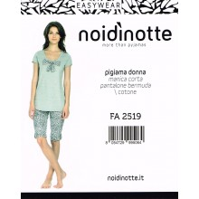 Art. FA 2519 - NOIDINOTTE PIGIAMA DONNA JUNGLE